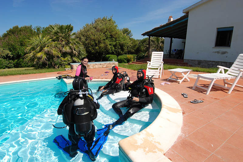 Discover Scuba Diving Course - Capo Galera Diving