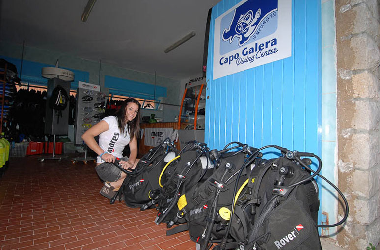 Capo Galera Diving