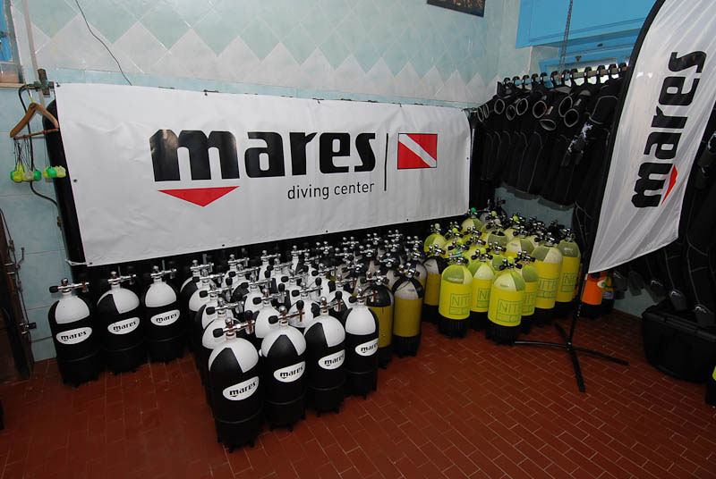 Mares diving equipment