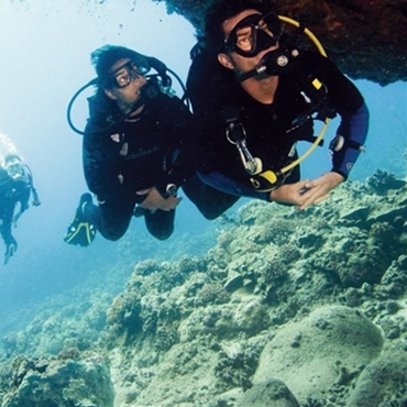 PADI Cavern Diver specialty course